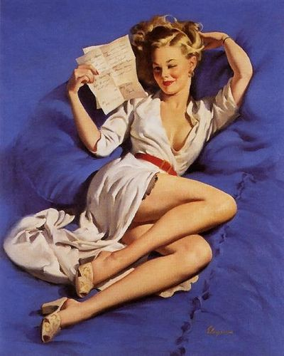 Pin up reading