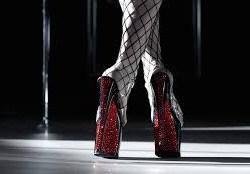Red Sparkkle Heels